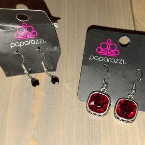 Earrings, lot of 2